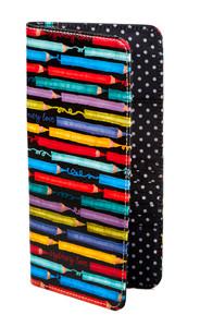 SL Colored Pencils Passport Wallet