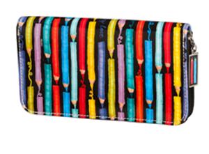 SL Colored Pencils Zip Around Wallet