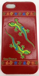 SHAGWEAR I-PHONE 5 GEKKOS RED