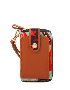 SPARTINA 449 WAVING GIRL CELL PH WALLET