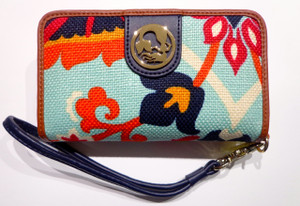 SPARTINA 449 WAVING GIRL FOLIO PH WALLET