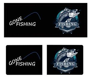 WYLD GONE FISHING (RFID) MENS WALLET