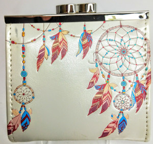 SHAGWEAR DREAM CATCHER IN CREAM COIN PURSE