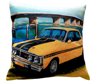 GTHO FALCON CUSHION COVER + INSERT 45cm x 45