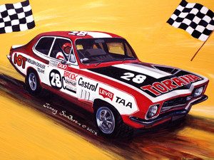 BATHURST BROCK 05 TIN SIGN 30cm x 40cm