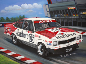 BROCK A9X TORANA TIN SIGN 30cm x 40cm