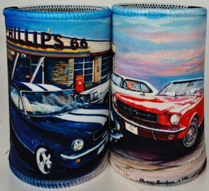 FORD MUSTANG THREE STUBBY HOLDER