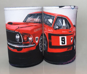 MUSTANG RED ALLAN MOFFATT STUBBIE HOLDER