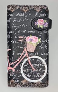 PARIS BICYCLE BLK LADIES WALLET