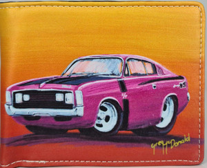 CHARGER R/T PINK (RFID) MENS WALLET
