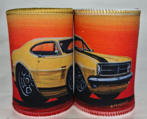 WLD MONARO YELLOW STUBBY HOLDER
