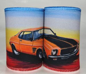 GTS MONARO ORANGE STUBBY HOLDER