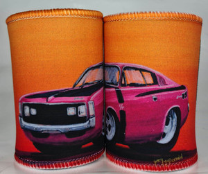 CHARGER R/T PINK STUBBY HOLDER