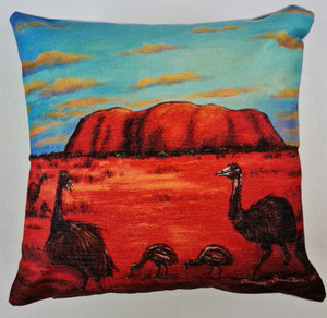 EMU  CUSHION COVER 45cm x 45cm (COVER ONLY)