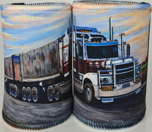 KENWORTH B DOUBLE STUBBY HOLDER