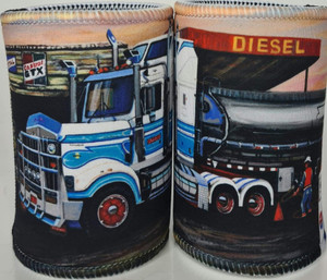 KENWORTH TANKER STUBBY HOLDER