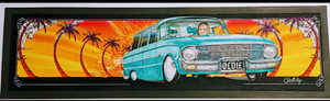 """OLDIE"" FORD BAR RUNNER (GELTCHY DESIGN)- 890MM X 240MM"