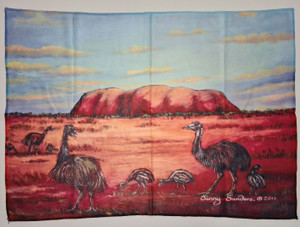EMU TEA TOWEL 70X50CM