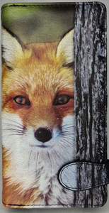RED FOX LARGE WALLET