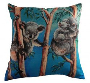 KOALA CUSHION COVER 45CMX45CM INC INSERT
