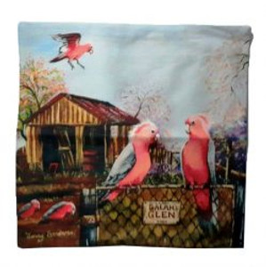GALAH CUSHION COVER + INSERT 45CM X 45CM