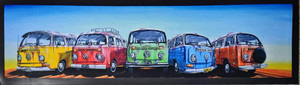 5 BAY WINDOW KOMBI'S BAR RUNNER 890MM X 240MM