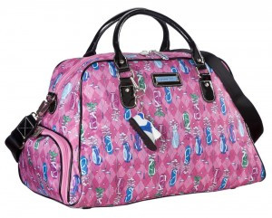 Sydney Love Sport Golf PINK Shoulder/ Shoe Bag