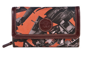 SL Going Places Wallet Orange