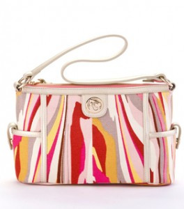 SP Shell Beach Simple Zip Tote