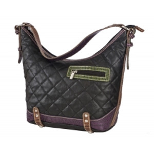 SL Quilted & Croc Hobo