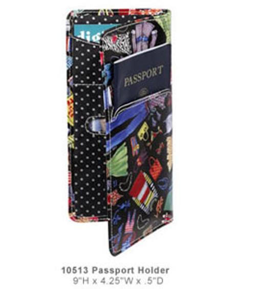 Sydney Love Wardrobe Passport Travel Document Folder
