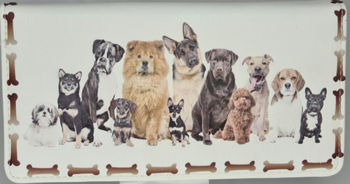 MIA LOUISE FRIENDS FOREVER DOGS- CREAM  (RFID PROTECTED)