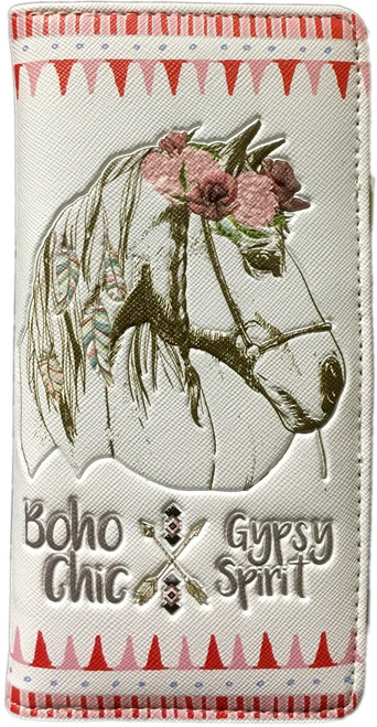 MIA LOUISE BOHO CHIC HORSE CREAM