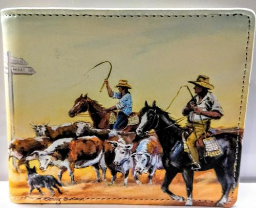 WYLD HORSE BACK (RFID) MENS WALLET