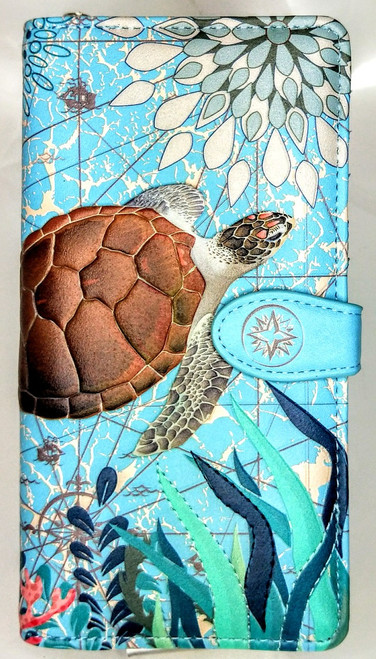 SHAGWEAR SEA TURTLE PURSE/ WALLET