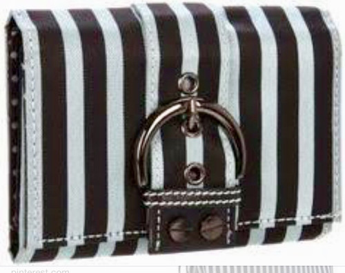 SYDNEY LOVE STRIPES IN SILVER AND BLACK