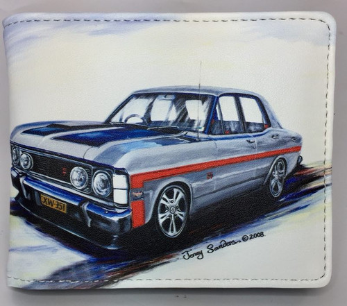 FALCON GT XW SILVER  (RFID PROTECTED)
