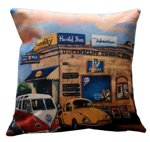 GENERAL STORE  CUSHION COVER + INSERT 45cm x 45