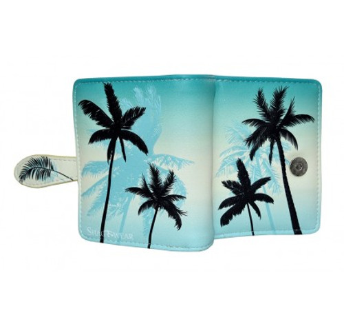 PALM TREES SMALL WALLET