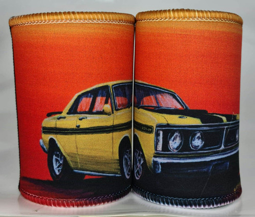 GTHO FALCON YELLOW STUBBY HOLDER