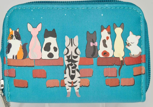 CATS IN A ROW COIN PURSE