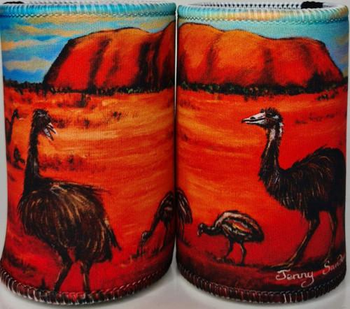 EMU STUBBY HOLDER (AUSTRALIAN)