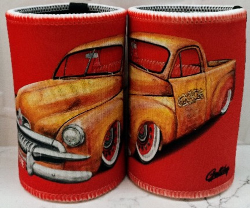 RED RUST IS NOT A CRIME STUBBY COOLER