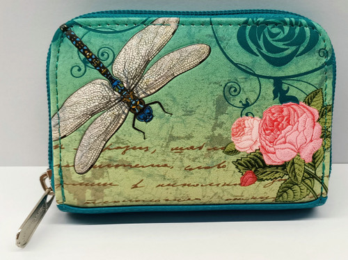 VINTAGE DRAGONFLY COIN PURSE