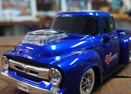 FORD F100 BLUETOOTH SPEAKERS IN BLUE