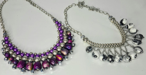 AZTEC CRYSTAL NECKLACE 10PCE PACK