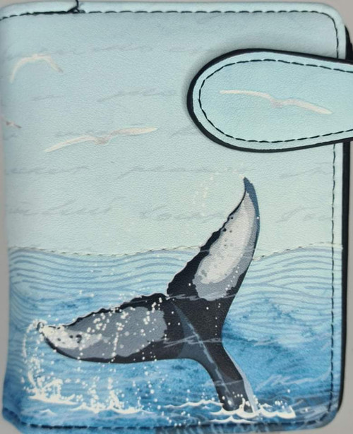 WHALE TALE SMALL LADIES WALLET