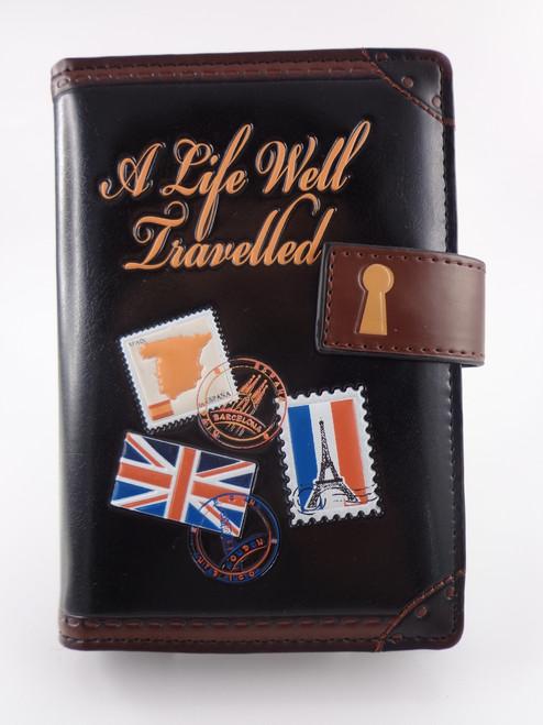 Travel Diary Small ZIPPER Wallet