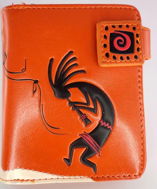 ShagWear Wallet Small Kopokeli Orange ZIP STYLE