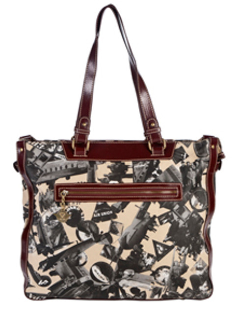 SL Going Places Large Travel Tote Warm Sand
